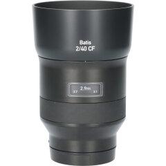Tweedehands Carl Zeiss Batis 40mm f/2.0 CF Sony E-Mount CM1204