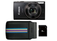Canon IXUS 285 Essentials Kit Zwart