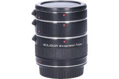 Tweedehands Soligor set tussenringen 3-delig voor Canon AF/EFS Sn.:CM3805