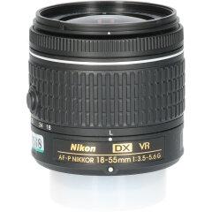 Tweedehands Nikon AF-P DX 18-55mm f/3.5-5.6 G VR CM4568
