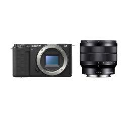 Sony ZV-E10 Body + 10-18mm f/4.0 OSS + GP-VPT2BT + ECM-W2BT