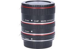 Tweedehands Caruba Tussenringenset voor Canon Chroom (versie II) Sn.:CM5892