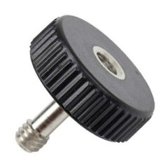 Caruba 1/4 inch Longer Camera / Tripod Bracket Screw Male Female Socket - Plastic