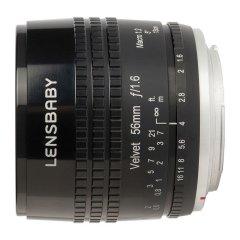 Lensbaby Velvet 56 Canon EF - Zwart