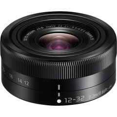 Panasonic 12-32mm f/3.5-5.6 Zwart (Bulk)