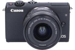 Tweedehands Canon EOS M100 Zwart +15-45mm CM8077