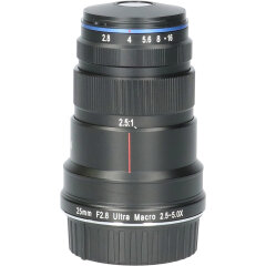 Tweedehands Laowa Venus 25mm f/2.8 2.5-5X Ultra-Macro Nikon F CM2519