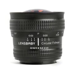Lensbaby Circular Fisheye Lens Canon EF