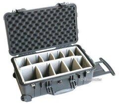 Peli™ (Protector) Case 1514 Black Carry on 55,9x35,1x22,9cm (dividers interieur)
