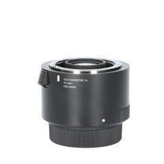 Tweedehands Sigma TC-2001 2.0x Teleconverter - Nikon CM1189