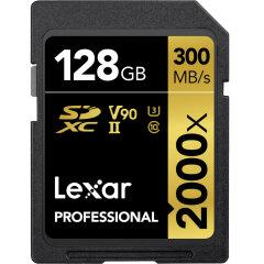 Lexar SDXC Pro 128GB UHS-II 2000x