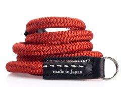 Artisan & Artist Acam 301 Silk/Leather - Strap Rood