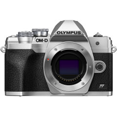 Olympus E-M10 Mark IV Zilver Body