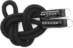 Artisan & Artist ACAM 301 silk/leather camera strap black