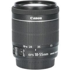Tweedehands Canon EF-S 18-55mm f/3.5-5.6 IS STM CM1206