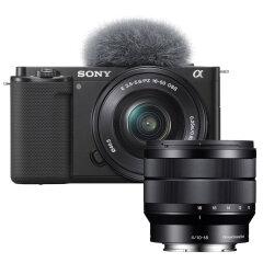 Sony ZV-E10 + E 16-50mm + 10-18mm f/4.0 OSS