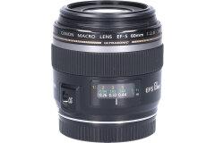 Tweedehands Canon EF-S 60mm f/2.8 Macro USM Sn.:CM6475
