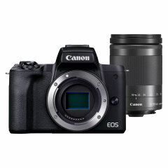 Canon EOS M50 Mark II Zwart + 18-150mm IS STM