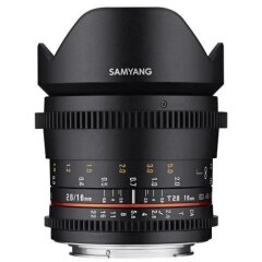 Samyang 16mm T2.6 ED AS UMC VDSLR Canon M