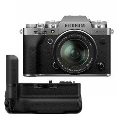 Fujifilm X-T4 Zilver + XF 18-55mm + VG-XT4 Powergrip