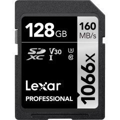 Lexar SDXC Professional UHS-I 1066x 128GB