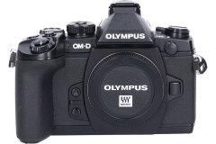 Tweedehands Olympus E-M1 Zwart - Body Sn.:CM5043