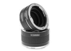 Caruba Tussenringenset voor Nikon Chroom (versie II)