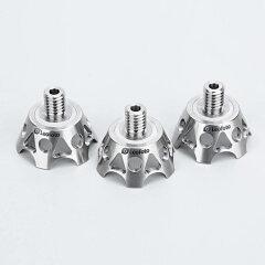 Leofoto TF-02 Titanium klauw voetjes 3 stuks