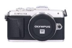 Tweedehands Olympus E-PL7 Zilver - Body Sn.:CM7447