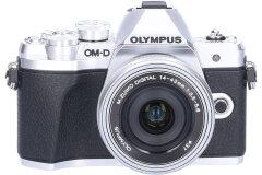Demomodel Olympus OM-D E-M10 Mark III Zilver + 14-42mm EZ CM8936