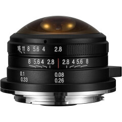 Laowa 4mm f/2.8 Fisheye Micro Four Thirds