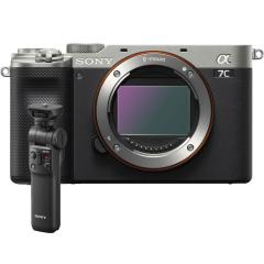 Sony A7C Body Zilver + GP-VPT2BT