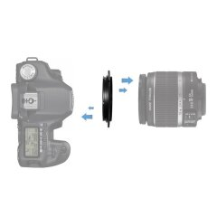 Caruba Omkeerring Sony E-mount naar 58mm