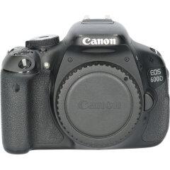 Tweedehands Canon Eos 600D Body CM3145