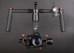 CAME-TV Showroommodel Mini 3 3-Axis Gimbal Stabilizer 32bit boards With Encoders-1-1