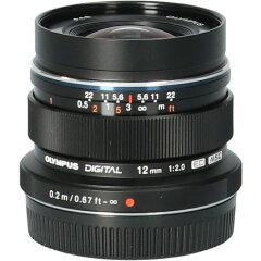 Tweedehands Olympus M.Zuiko Digital ED 12mm f/2.0 - Zwart CM9265