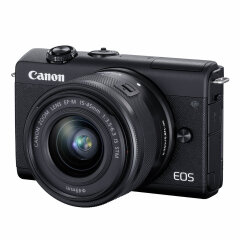 Canon EOS M200 Zwart + 15-45mm IS STM