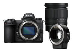 Nikon Z6 + 24-70mm f/4.0 + FTZ Adapter