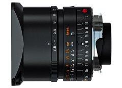 Leica Elmar-M 24mm f/3.8 Asph - Zwart