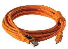 Tether Tools TetherPro USB 2.0 - Micro-B 5 pin (4,6m oranje)