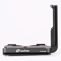 Leofoto L plate for Fuji GFX-50R with grip