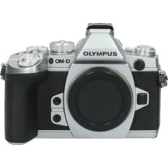 Tweedehands Olympus E-M1 Zilver - Body CM1981