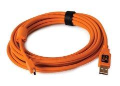 Tether Tools TetherPro USB 2.0 - Mini-B 5 pin (4,6m oranje)