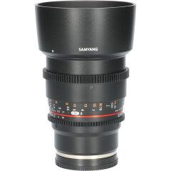Tweedehands Samyang 85mm T1.5 VDSLR II Sony E CM5009