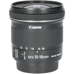 Tweedehands Canon EF-S 10-18mm f/4.5-5.6 IS STM CM3250