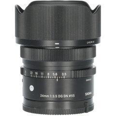 Tweedehands Sigma 24mm f/3.5 DG DN Contemporary Sony E CM5306