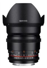Samyang 16mm T2.2 ED AS UMC CS II VDSLR Sony A