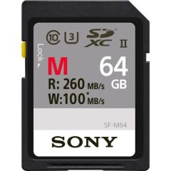 Sony Professional UHS-2, SD Card cl10 64GB