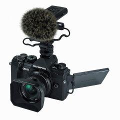 Olympus E-M5 Mark III Moviekit met 12-20mm en LS-P4 recorder