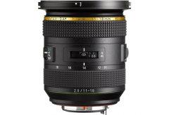 Pentax DA HD 11-18mm f2.8 ED DC AW